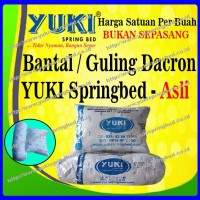 BANTAL & GULING DACRON YUKI ASLI