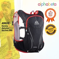 AONIJIE 906 RUNNING PACK HYDRATION - TAS JOGGING UKURAN XL BLACK