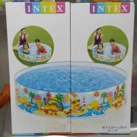 Kolam Renang anak Intex Tanpa pompa Snapset pool 58477
