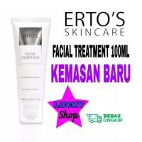 Ertos facial treatment 100ml original baru sabun cuci muka cleanser