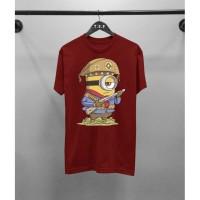 Kaos Distro Pria Minion Pirate Atasan Pria T-shirt Pria