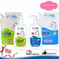 PUREBABY PURE BABY WASH 2 IN 1 FRESHY 450 ML 450ML REFILL ISI