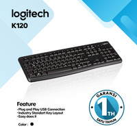 Katalog Keyboard Logitech K120 Katalog.or.id