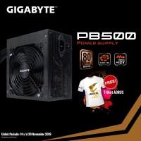 PSU Gigabyte - Power Suplai Gigabyte PB500 500w 80+ Bronze - Free Kaos