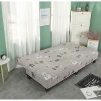 terbaru Cover SOFA BED Sarung SOFA BED stretch elastis KAKTUS Cover