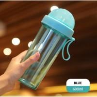 terbaru Duet Couple bottle Travel 600ml Botol Minum Dual Use Dua Sisi