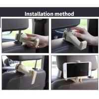 terbaru Car Holder Car Seat Headrest Hook for Hanging Bag mobile