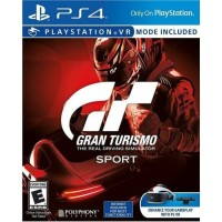 Gran Turismo Sport Game PS4