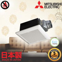 MITSUBISHI DUCT VENTILATOR VD-10Z4T6 dual barrier exhaust fan