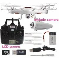 X5C 2G 2.4Ghz 4CH 6-Axis RC Drone Quadcopter HD1080P 2.0MP Kamera