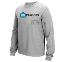 Kaos Lengan Panjang - Long Sleeve Shirt - Piaggio Vespa