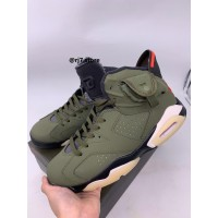 "Travis Scott x Nike Air Jordan 6 ""Cactus Jack"" (PK GOD)"