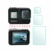 Tempered Glass Gopro Hero 8 7 6 5 Film Lens Screen Protector 9H Camera