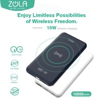 Zola Infinity Powerbank Charging 10W Wireless 10000 mAh