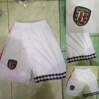 Celana Bola Bali United Home Putih Liga 1 Gojek 2018 Grade Ori Loka