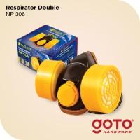 Masker Obat Double NP306 Anti Polusi Chemical Respirator Kimia NP-306