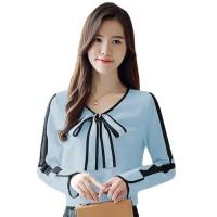 Terpopuler Baju Atasan - Kemeja Wanita - Blouse Wanita Gaya Korea With