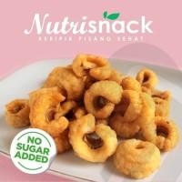 Keripik Pisang manis tanpa gula rendah kalori cocok untuk diet