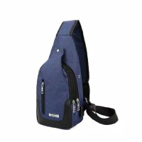 Tas Slempang Anti Air Kanvas SPEN + USB
