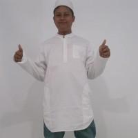 kurta Pakistan putih xxxl (tanpa celana)