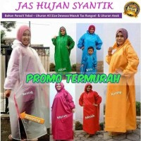 HOT SALE!! Jas Hujan muslimah /Mantel Gamis produsen - Navy