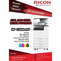 Rental Mesin Fotocopy Warna A3 Speed 25 Merk Ricoh MP C2504