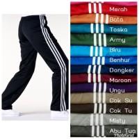 Celana Training Pria dan Wanita All Size - Celana Trening Panjang - Hitam