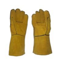 sarung tangan las kulit 14 inch