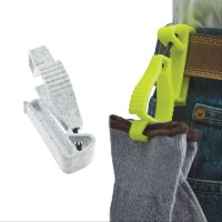 YELLOW GLOVE GUARD BELT CLIP FOR WORK SAFETY