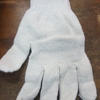 Sarung Tangan Rajut Katun Tipe Benang 8 B8 Putih