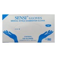Sensi Gloves Nitrile Non Powder - Powder Free Sarung Tangan Glove