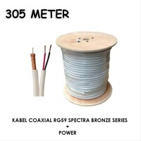 Kabel Coaxial RG59 Spectra Bronze Series Plus Power 305m