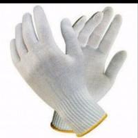 Sarung tangan kain katun 6 benang per lusin cotton gloves