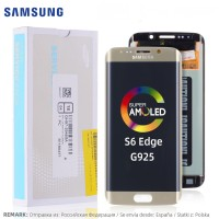 [Allparts] S6 Edge G925 TOUCHSCREEN For Samsung Galaxy LCD COMPLETE