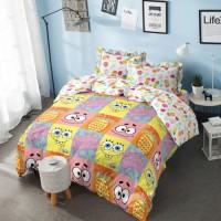 Kintakun Bed Cover D luxe 180x200 (King) Spongebob