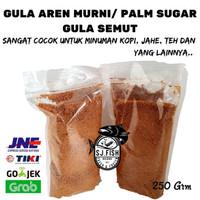 GULA AREN BUBUK - PALM SUGAR - GULA SEMUT - BROWN SURAG 250 g
