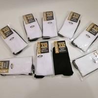kaos kaki sekolah back to school TK SD SMP SMA kaus kaki hitam putih