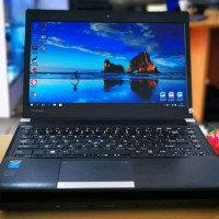 Laptop Toshiba R30 Core i5 ram 4gb Hardisk 500gb no ssd no touchscreen
