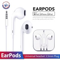 Handsfree/ Headset / Earphone / EarPods Universal Apple iPhone 3.5mm