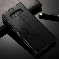 SAMSUNG Galaxy Note 8 flip cover wallet new leather case kulit dompet