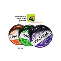 Pagoda Pastiles - Permen Pastiles Legenda Indonesia - 20 gr TIN