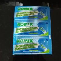 Komix Peppermint isi 3 sachet (Obat Batuk)