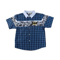 KIDS ICON - Kemeja Anak Laki-laki BATMAN with Cut & Sewn - BM500700200