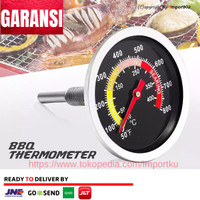 Thermometer Mekanik Analog Kithen Oven cooking BBQ 450C