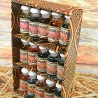 Paket Essential Oil Aromatherapi Aromatherapy Humidifier isi 15 botol