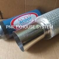 knalpot Mobil Racing Muffler HKS Hipower Dan Resonator Scoot