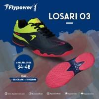 Sepatu Badminton Bulutangkis Flypower Losari 3 Original