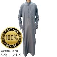jubah pria polos