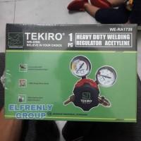 TEKIRO gas asetilin / heavy duty regulator gas acetylene 40 bar