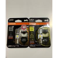 Osram LED T19 M5 H6 K1 Lampu Utama Motor Bebek Matic 6000K Putih AC DC